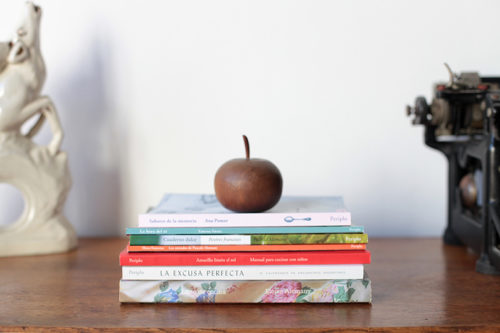 Los libros de Periplo Ediciones. Foto