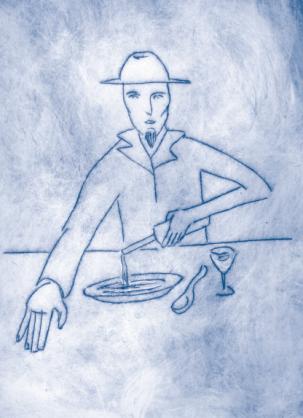Ilustraciones del libro Sabores de la memoria. Foto