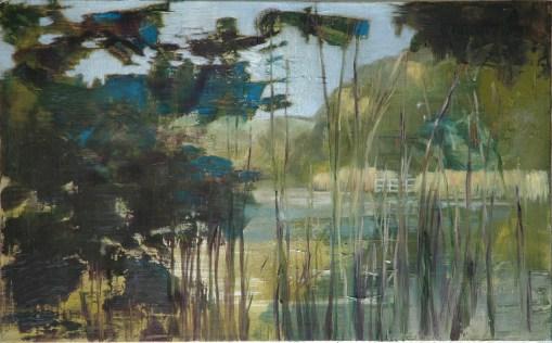 Godnasee / Öl auf Leinwand / 50 x 80 cm / 2007