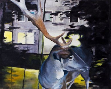 Grenzgänger / Öl auf Leinwand / 40 x 50 cm / 2016