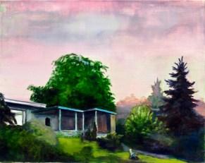 Hubertushöhe / Öl auf Leinwand / 40 x 50 cm / 2013