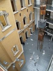 Fallengelassen / 49 Aktenordner geschnitten / Justizministerium Dresden / 2013