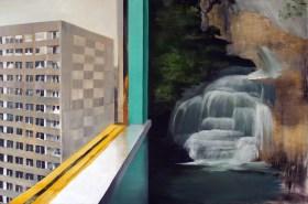 Schöne Aussichten / Öl auf Leinwand / 100 x 150 cm / 2010