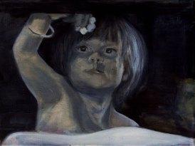 Verzeih mir / Öl auf Leinwand / 30 x 40 cm / 2017