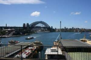 Sydney Harbour Bridge by Reginald J. Dunkley
