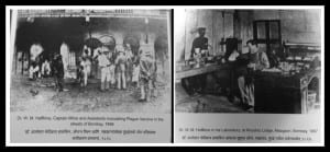 Dr. Haffkine's effort to save the people of Bombay during the plague epidemic of 1896-97. Photo edited by Aditya Chichkar.