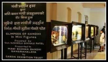 28 Dioramas artistically exhibiting glimpses from Gandhiji's personal and political journey. Photo courtesy Aditya Chichkar.