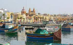 Marsaxlokk Harbour - home port for lampuki fishing fleet
