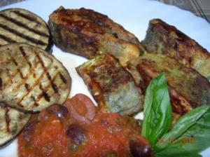 Grilled or fried lampuki with a traditional tomatoe salsa sauce.