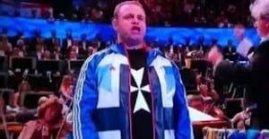 Joseph Calleja at the Royal Albert Hall for the Last Night of the Proms