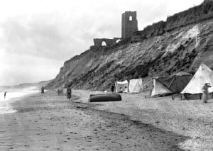 DUNWICH EARLY PIC SHOWS EROSION