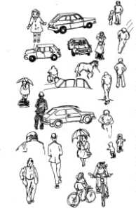 street sketches 1