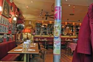 The characterful Le Cochon qui Louche restaurant in Charleville is a truly great eatery