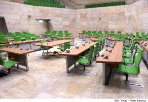 a works canteen - no, the new debating chamber