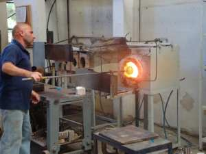The Phoenicians brought glass manufacture to Malta and it's still going strong today