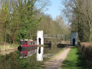 Drayton Turret Footbridge. Photo courtesy of K. Sugden (WWT)