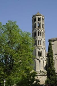 Uzes Cathedral tower