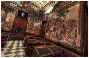 The Tapestry Chamber served as Malta's Parliament for many years.