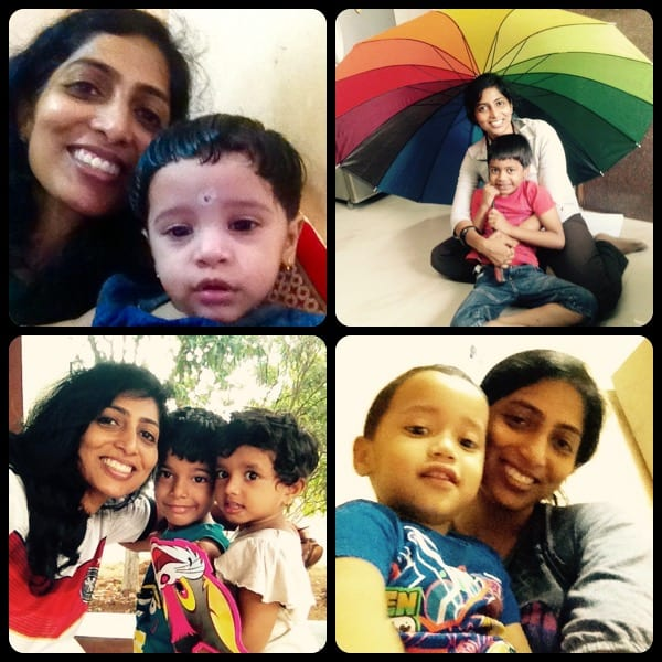 6)Bonding with various kids, yet another source of joy for me! Clockwise: Spruha, Sayyam, Ishanvi, Ada & Ahmaan.