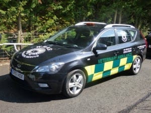 Kia ambulance purchased with the help of BIrchwood Kia in Eastbourne
