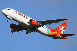 Air Malta's new livery.