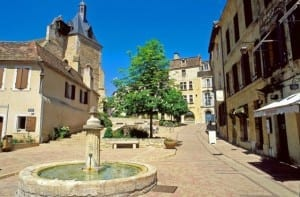 The city of Bergerac