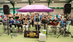 Spa Strummers Ukulele Band