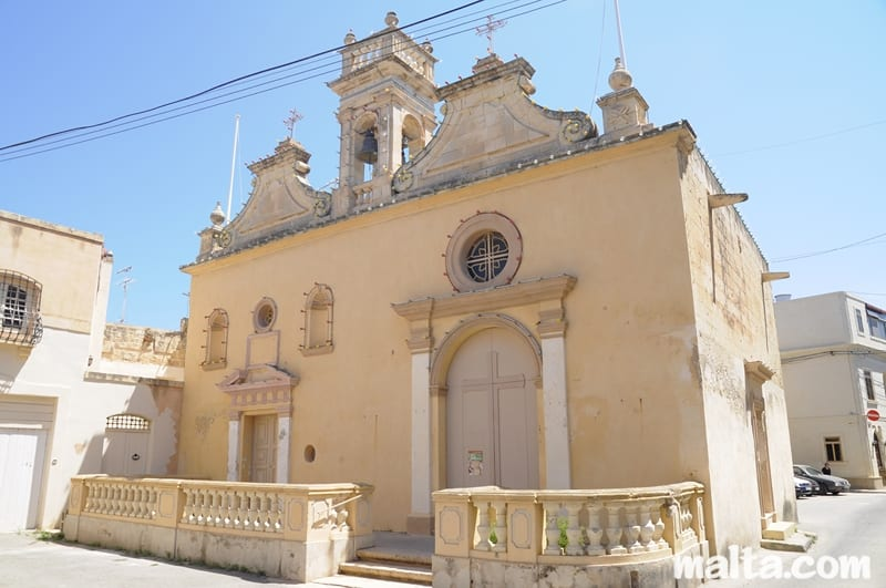 Twin chapels at Naxxar, one dedicated to Our Lady of Nativity and the other to St Lucy