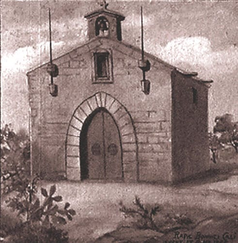 Caricature of the Graces Chapel at Zabbar