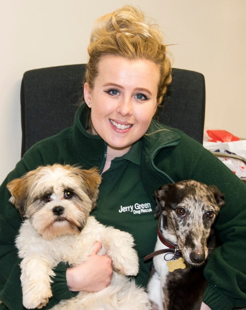 Sapphire Mcinnes with Bonnie and Maple