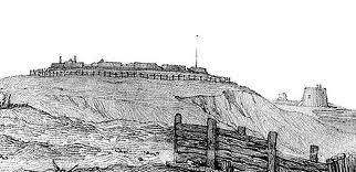 Wish Tower drawing about 1860