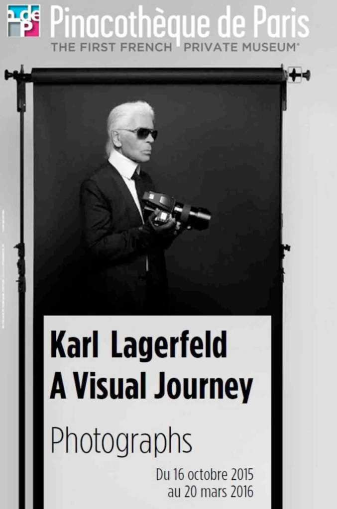 Lagerfeld exhibition at Pinacotheque