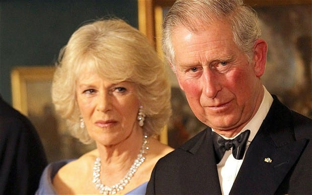 HRH Prince Charles and the Duchess of Cornwall.