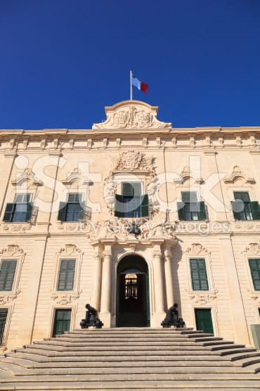 The PM Office at Castile, Valletta.