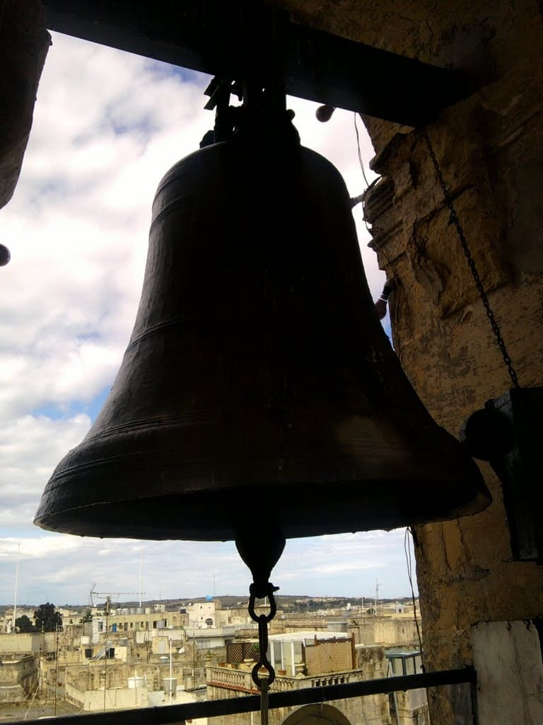 The big bell at Rabat.