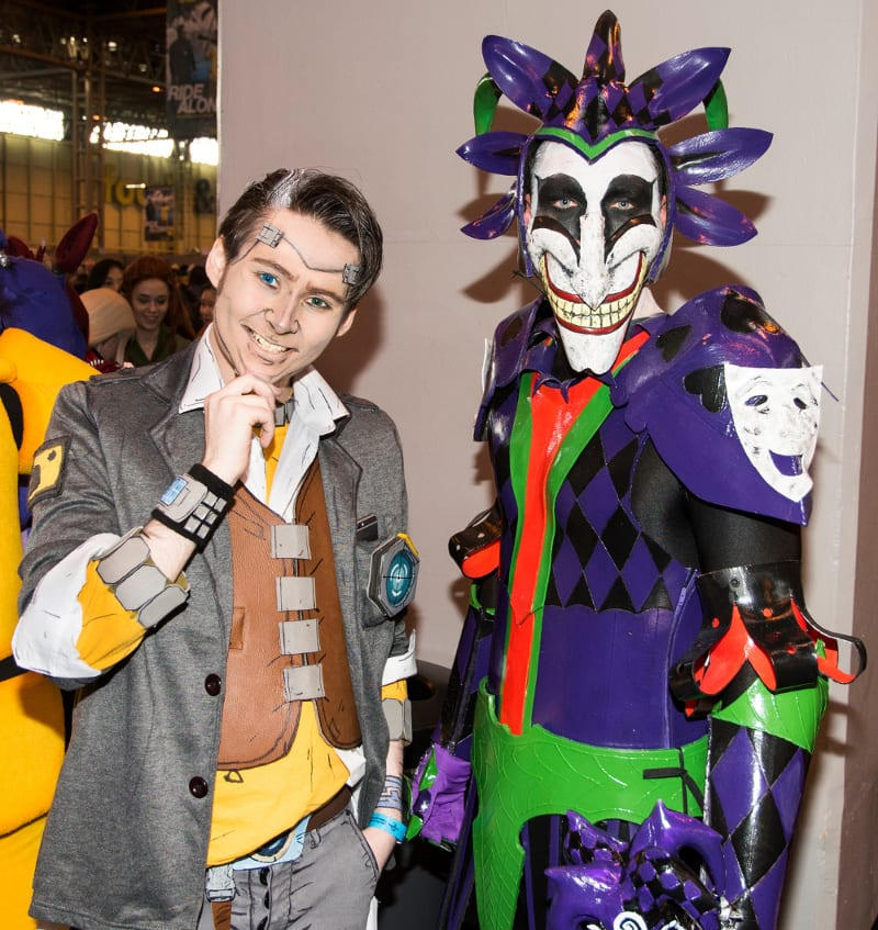Handsome Jack and Armoured Joker