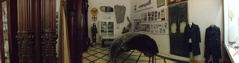 Museum room to commemorate the Vulcan crash over Zabbar