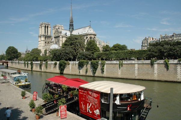 The Seine Banks and Notre Dame