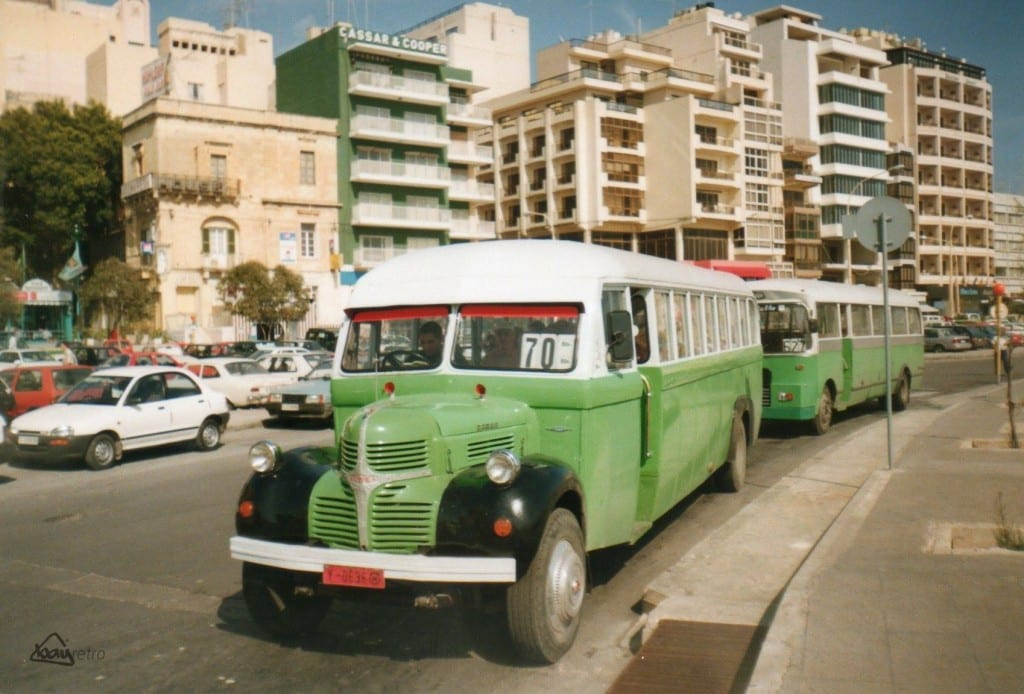 The Valletta to Sliema route