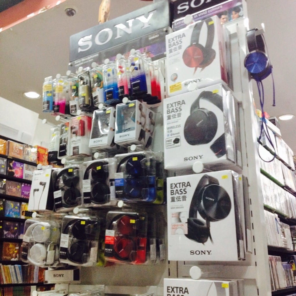 Music accessories at Rhythm House