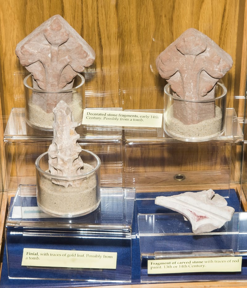Artefacts from Bordesley Abbey