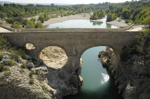 The Pont-du-Diable (Devil's Bridge)