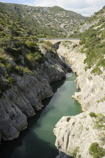 The Herault gorges
