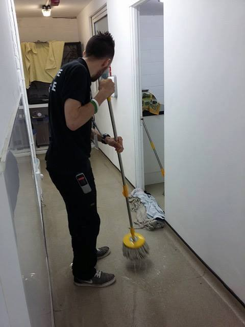 Clean up Operation at WRAS