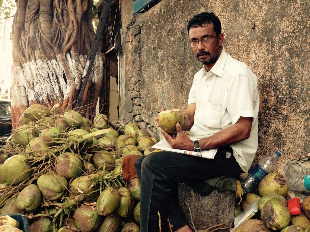 'Nariyal Paniwala'- Coconut juice vendor, Mumbai