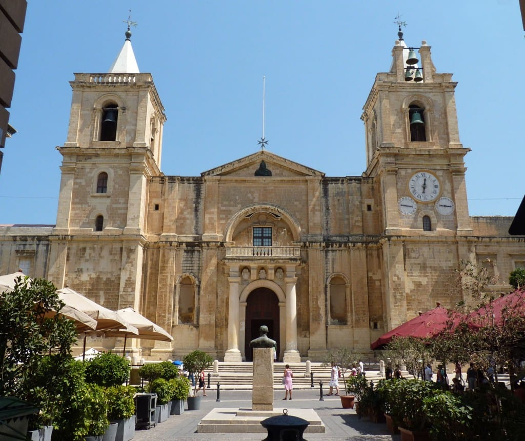 St John's Co-Cathedral in Valletta.