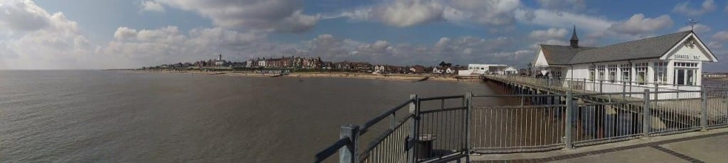 View from Southwold Pier