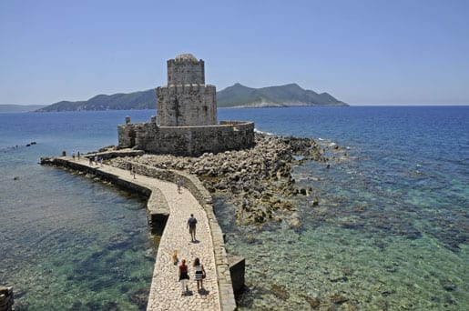 14- Methoni Castle, the islet