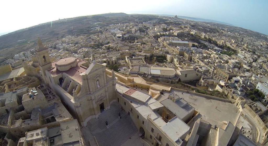 An aerial picture by Jes Azzopardi.