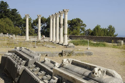 Temple at Asclepeion